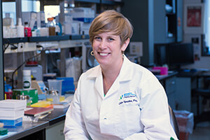 Cate Speake, PhD, is a co-investigator for the JDRF CAV.
